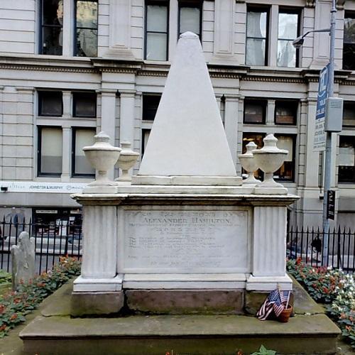Alexander Hamilton's grave (StreetView)