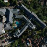 Drone view of Sheraton Bandung