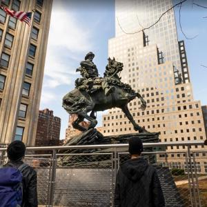 Horse Soldier Statue - America's Response Monument (StreetView)
