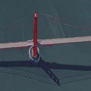 Golden Gate Bridge (Google Maps)