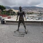 Cristiano Ronaldo statue