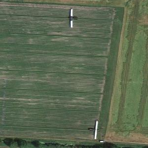 Cucumber harvesters at work (Google Maps)