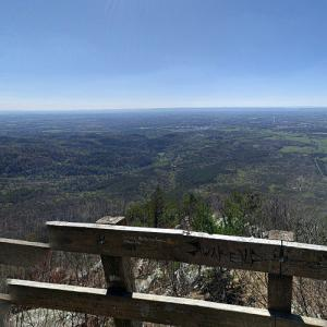 View from Fort Mountain State Park (StreetView)