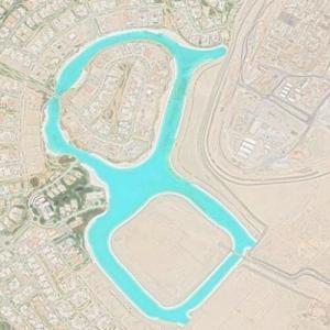 World's Largest Man-Made Lagoon (Google Maps)