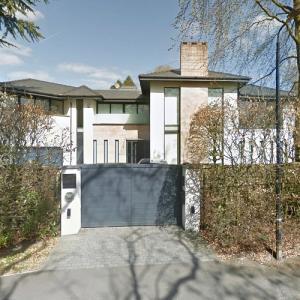 Paul Pogba's House near Manchester (Google Maps)