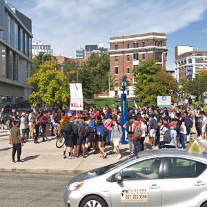 LGBTQ protest / demonstration (StreetView)