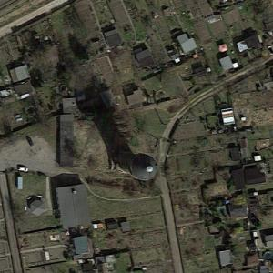 Delitzsch water tower (Google Maps)