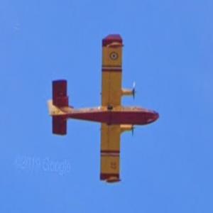 CL-415 Superscooper [F-ZBFV] {Sécurité Civile (StreetView)