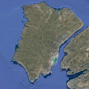 Banks Island (Google Maps)