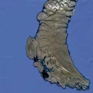 Yuzhny Island (Google Maps)