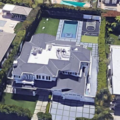 Paul George's House (Google Maps)