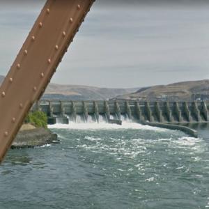 Dalles Dam (StreetView)