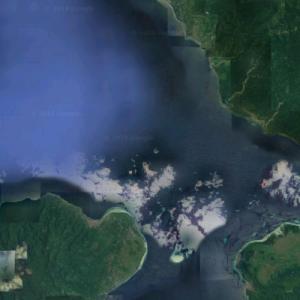 2019 Ambon earthquake epicenter (Google Maps)