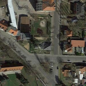 Groitzsch water tower (Google Maps)