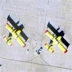 3 Canadair CL 215 Fire Bombers (Google Maps)