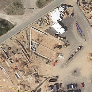 Innovationshuset under construction (Google Maps)