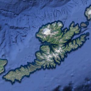 Unalaska Island (Google Maps)