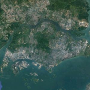 Pulau Ujong (Google Maps)