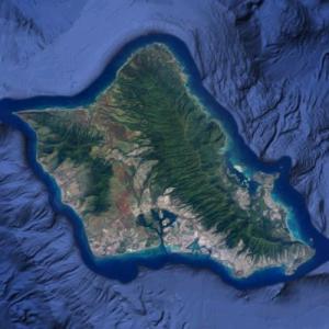 Oahu (Google Maps)