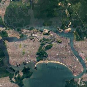 São Vicente Island (Google Maps)