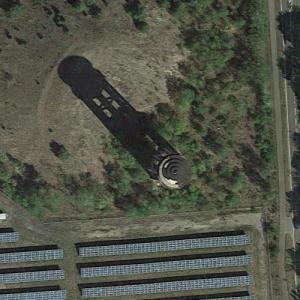 Lauta water tower (Google Maps)