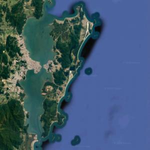 Santa Catarina Island (Google Maps)