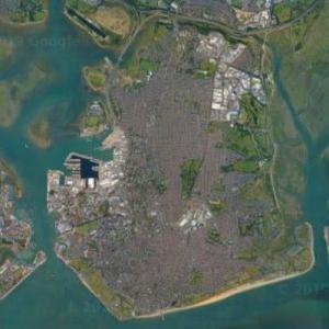 Portsea Island (Google Maps)