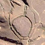 Odd Land Formations (Google Maps)