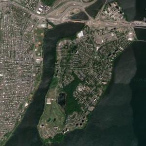 Nuns' Island (Google Maps)