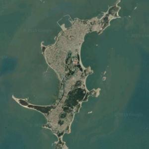 Meizhou Island (Google Maps)