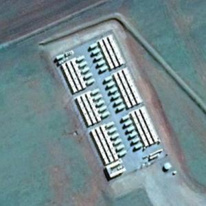 World's largest lithium-ion battery by Tesla (Google Maps)