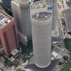 AXA Tower (world's tallest cylindrical building) (Google Maps)