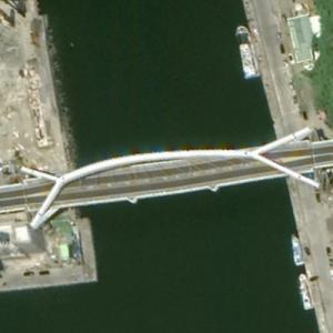 Bridge collapsed (Google Maps)
