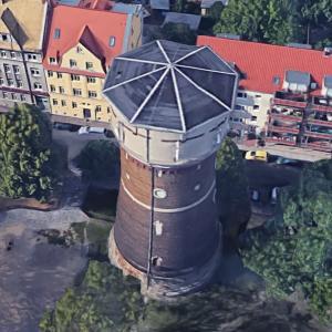 Markranstadt water tower (Google Maps)