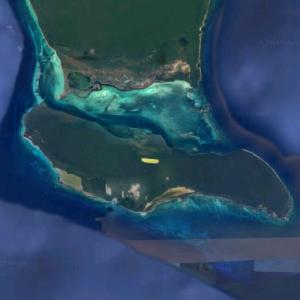 Saona Island (Google Maps)