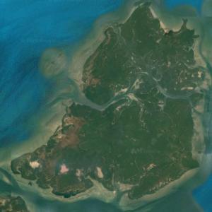 Formosa (largest island in Guinea-Bissau) (Google Maps)