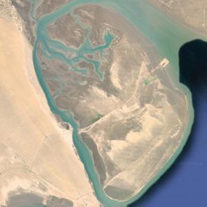 Bubiyan Island (largest island in Kuwait) (Google Maps)