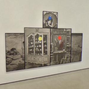 'Seashells/Tridents/Frames' by John Baldessari (StreetView)