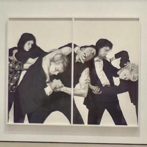 'Untitled (White Riot)' by Robert Longo (StreetView)