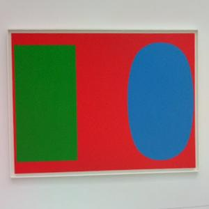 'Green Blue Red' by Ellsworth Kelly (StreetView)
