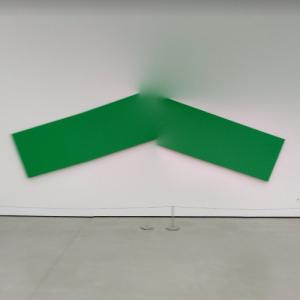 'Green Angle' by Ellsworth Kelly (StreetView)