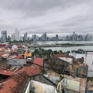 View of Panama City from Hotel Las Clementinas (StreetView)