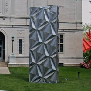 'Monolith (Optic)' by Conrad Shawcross (StreetView)