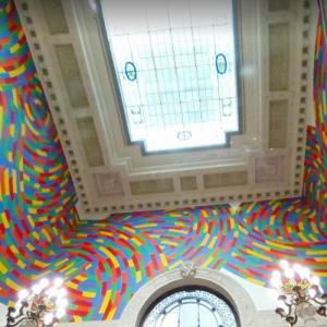 'Wall Drawing #1131, Whirls and Twirls (Wadsworth)' by Sol LeWitt (StreetView)