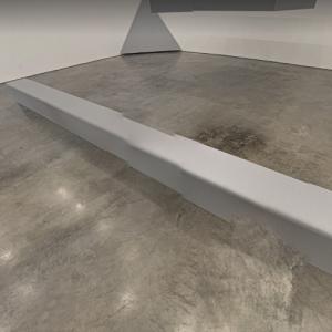'Untitled (Floor Beam)' by Robert Morris (StreetView)