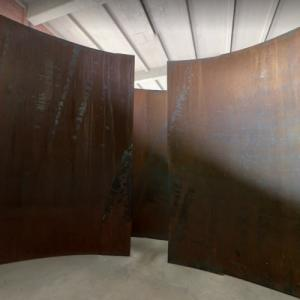 'Double Torqued Ellipse' by Richard Serra (StreetView)