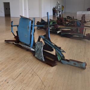 'Gondola Herman Melville' by John Chamberlain (StreetView)