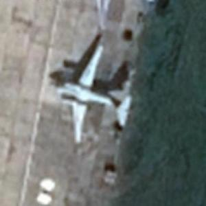An-72 COALER at Chkalovskiy Air Force Base (UUMU) (Google Maps)