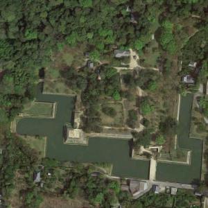 Hagi Castle Ruins (Google Maps)