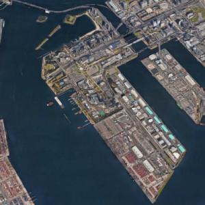 Odaiba (Google Maps)